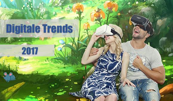 Deux personnes dans un monde virtuel grâce à des lunettes de réalité virtuelle