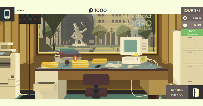 Ein Ausschnitt aus dem Spiel Datak