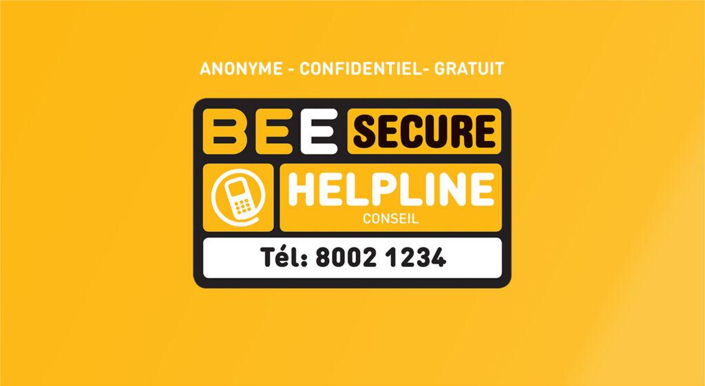 BEE SECURE Helpline 8002 1234